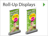 Online-Druckerei Roll-Up Display